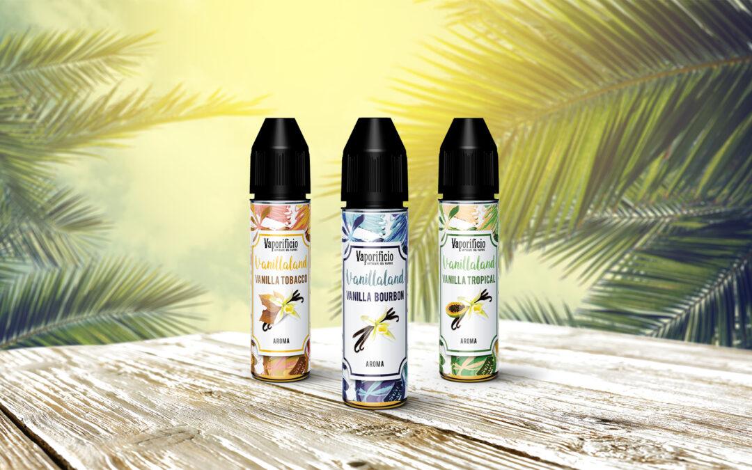 Il Vaporificio firma Vanillaland, omaggio aromatico alla bacca preziosa e profumata